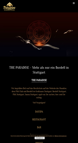 Paradise stuttgart the Welcome to